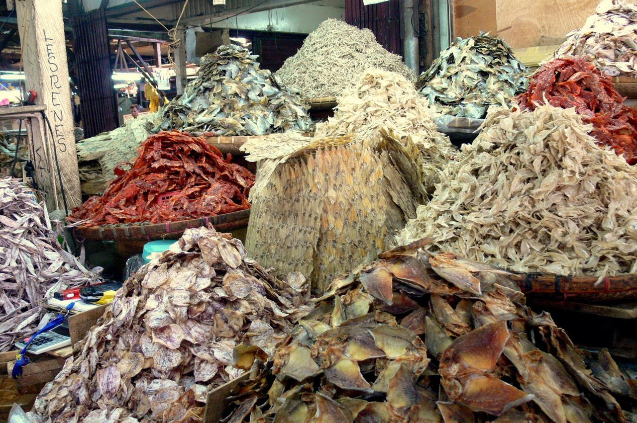 Abundance Choice Day Dried Fish  Fish Growth Heap Large Group Of Objects Log Lumber Industry Messy Nature No People Outdoors Pile Retail