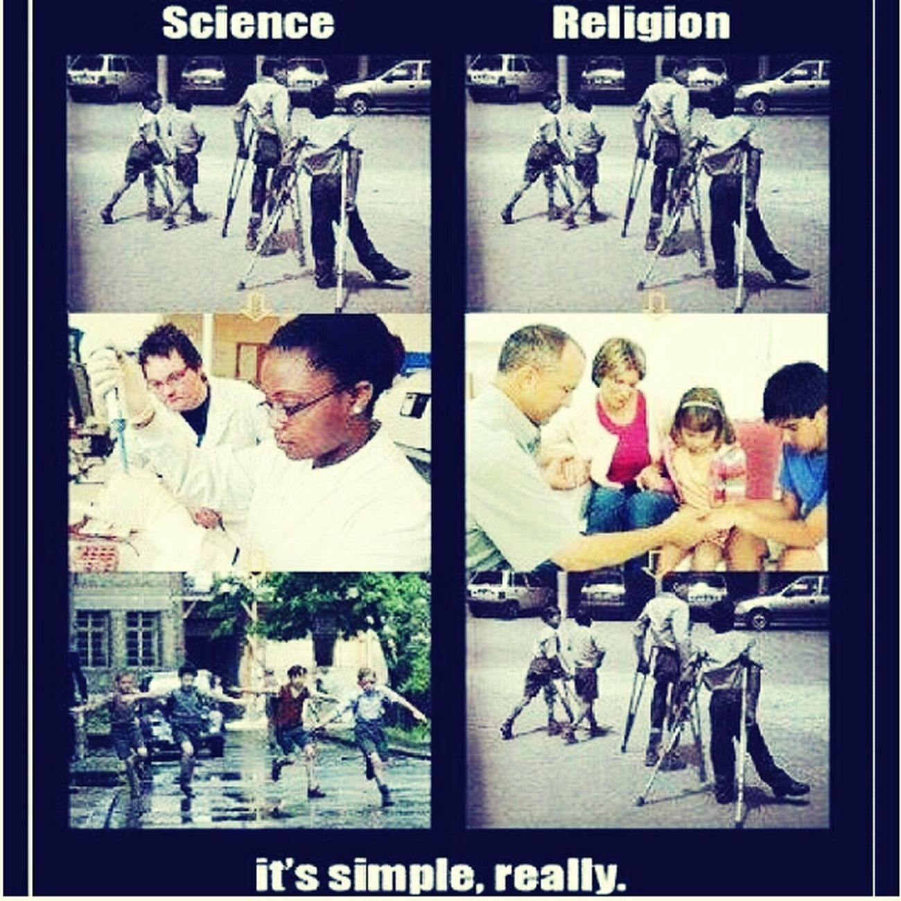 apprenetly more good has come from science . Upcoming Athiests No God Athiest Athiesm
