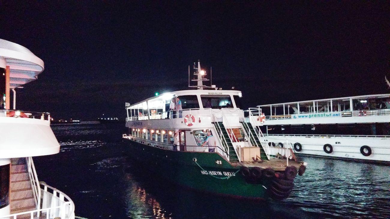 Akşam Seferini Tamamladık Istanbul Büyükada Kartal