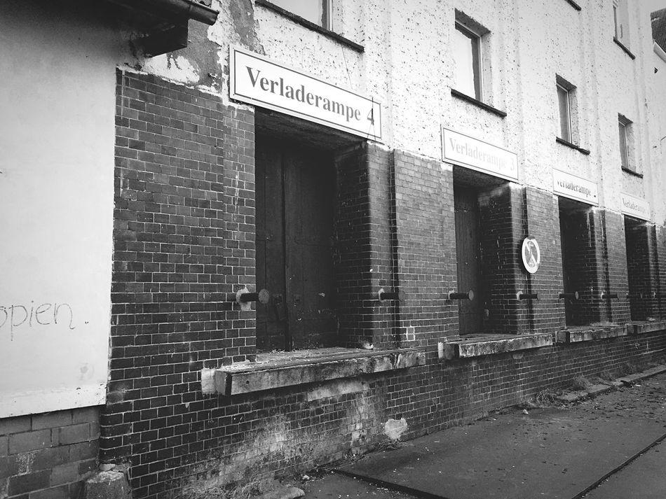 Loadingbay Abandoned Buildings Brewery Berlin