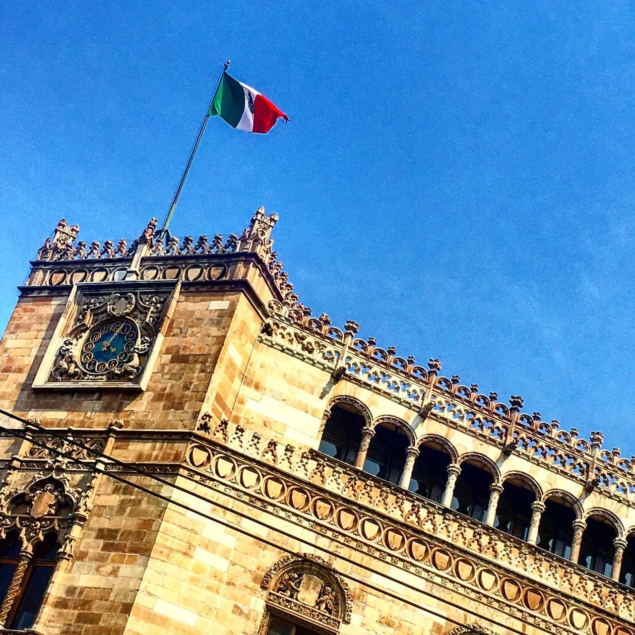 Beautiful stock photos of mexican flag, Cuauhtémoc, Meixco, Mexico, architectural Feature