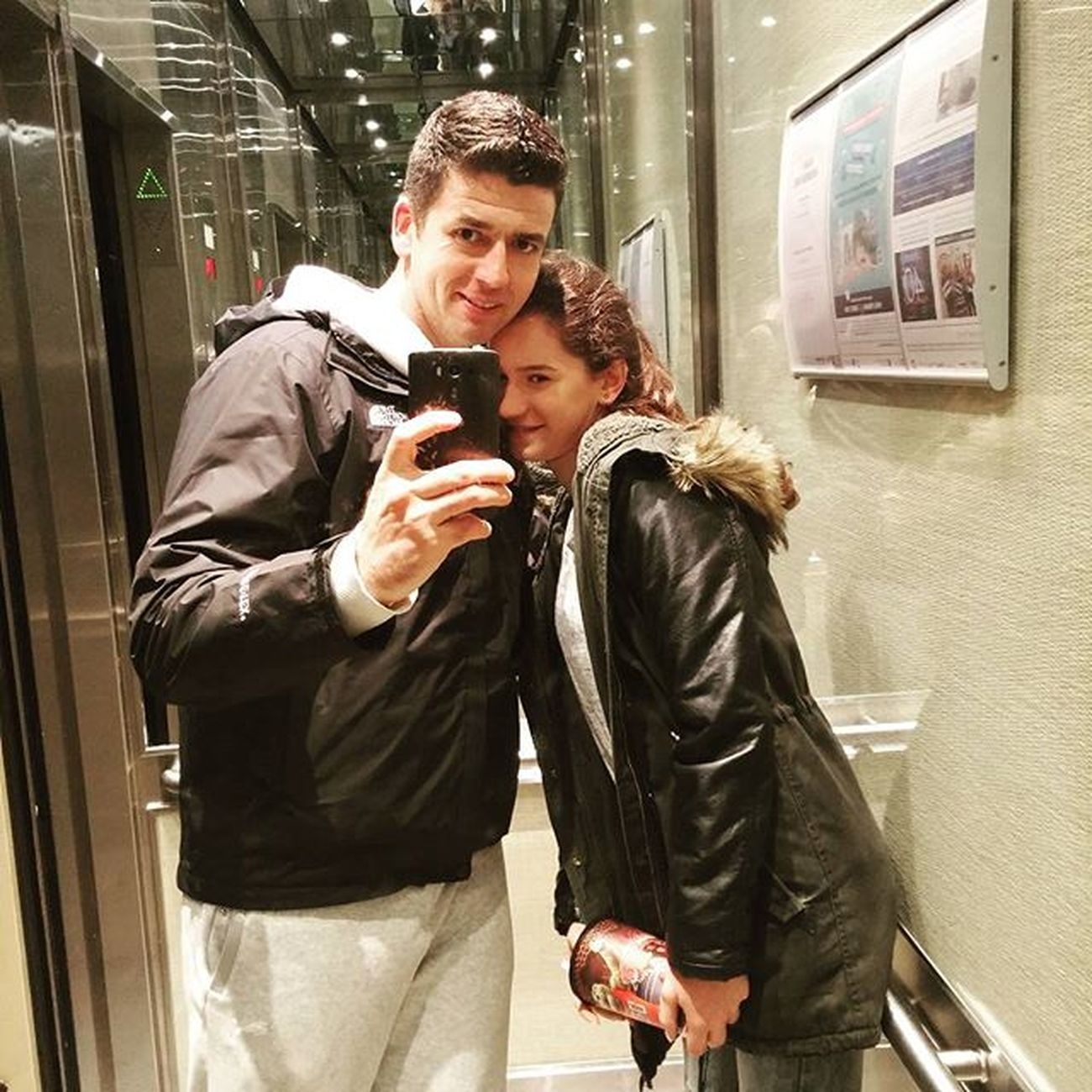 Elevatorselfie Milica & Me