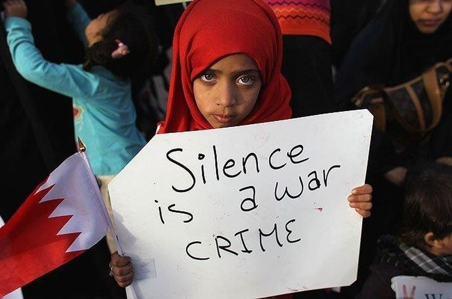 Humaninterest Not My Pic Just Today Am I Powerful Silence Is A War Crime