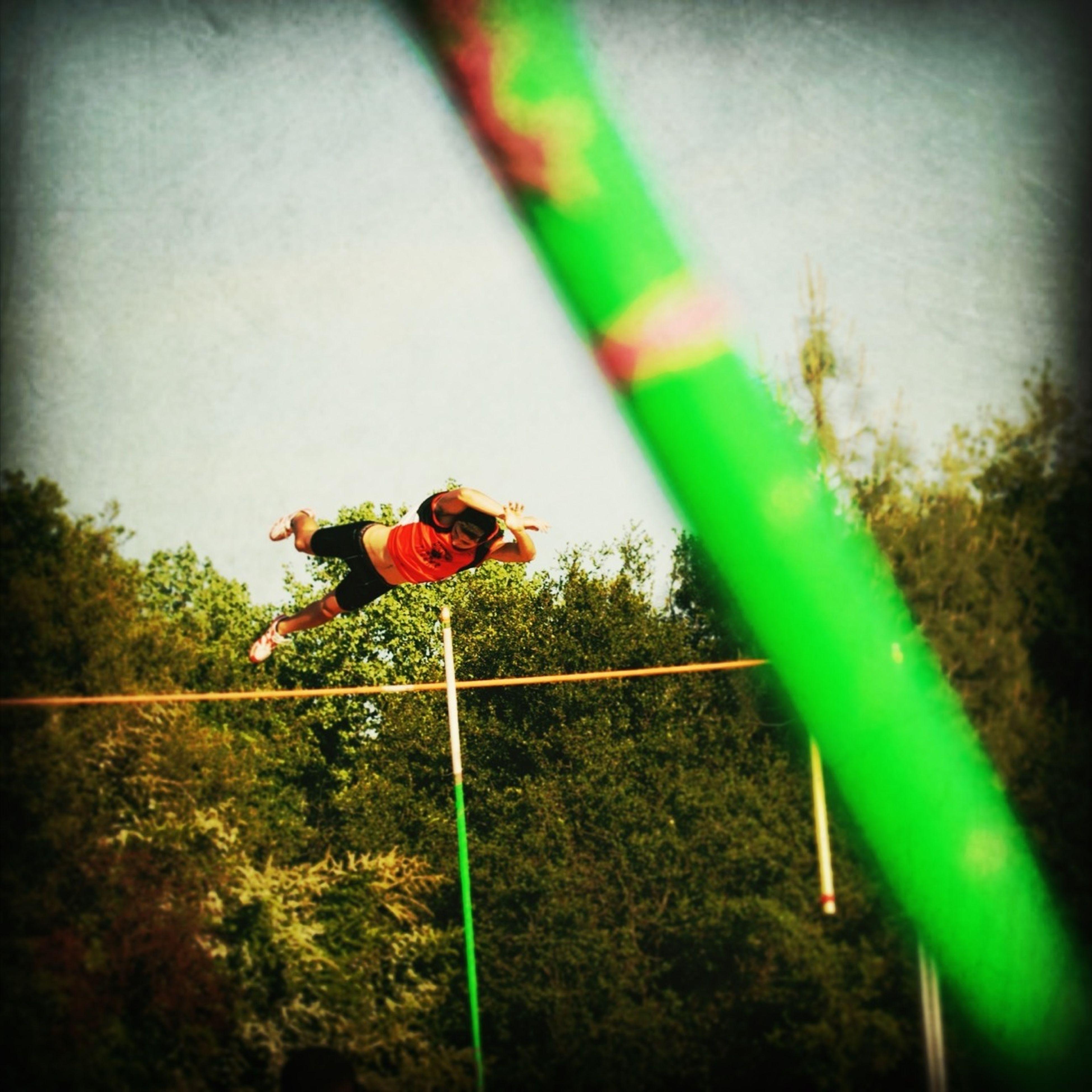 Pole Vaulting
