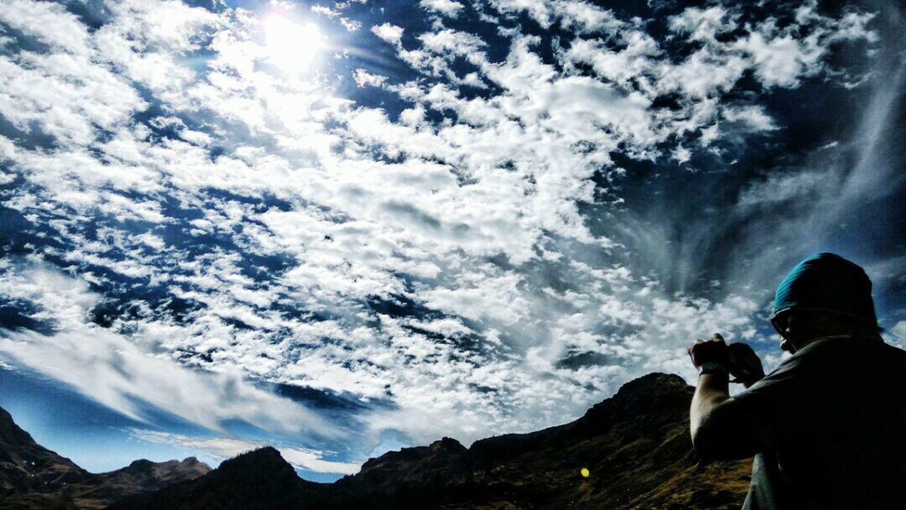 Cloud - Sky Hiking Mountain Scenics Outdoors Adventure Low Angle View Landscape Day Beauty In Nature