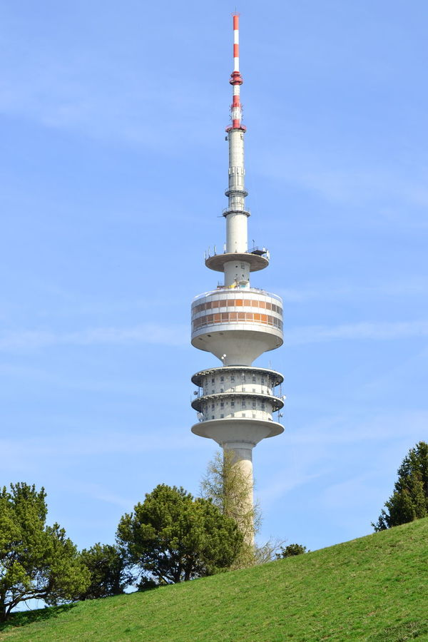 Nikon NikonD7100 Olympiastadion München Architecture Blue Building Exterior Built Structure City Day First Eyeem Photo Growth Low Angle View Nature Nikonphotography No People Olympiaturmmünchen Outdoors Sky Tall - High Tourism Tower Travel Travel Destinations Tree