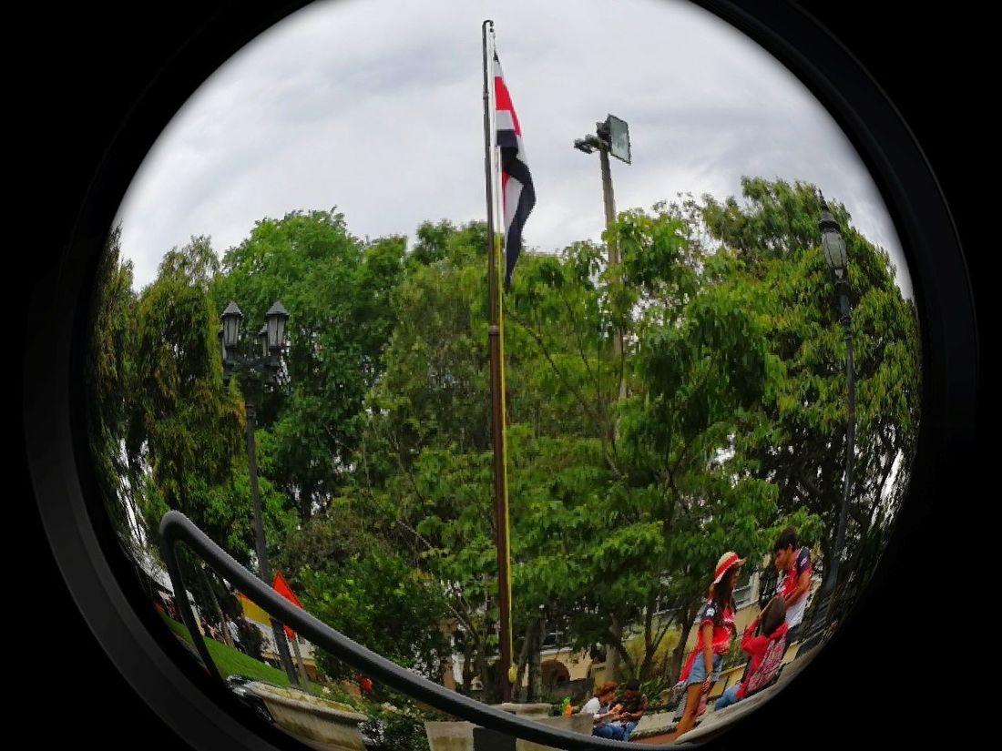Flag No People Costa Rica 🇨🇷 I Love It ❤ Color Life Freetime 👌 Daughter And Dad ❤ Family❤ Parque Nacional Pura Vida ✌