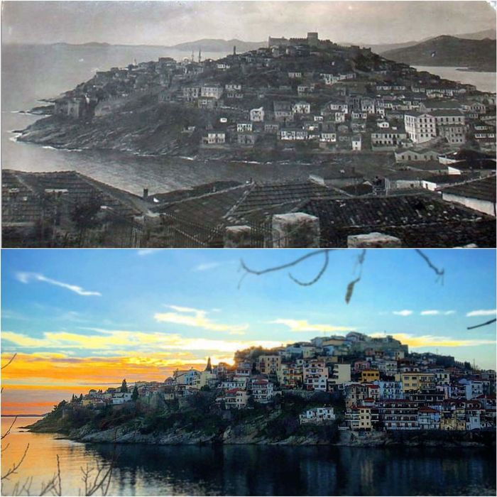 The Changing City Kavala Greece, Thasos Greece OldNew Check This Out Taking Photos Relaxing Hello World