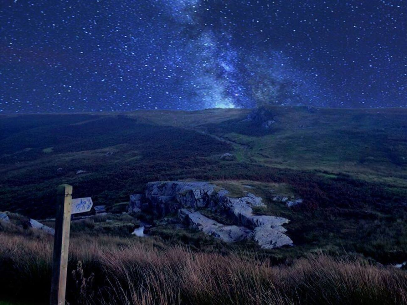 Travel Destinations Wales DarkestPart Darkest Hours Travelled9hours To Witness This! Sky 😚 Nightphotography Fieldscape Another World Spectacular Feeltheuniverse Feeling Inspired