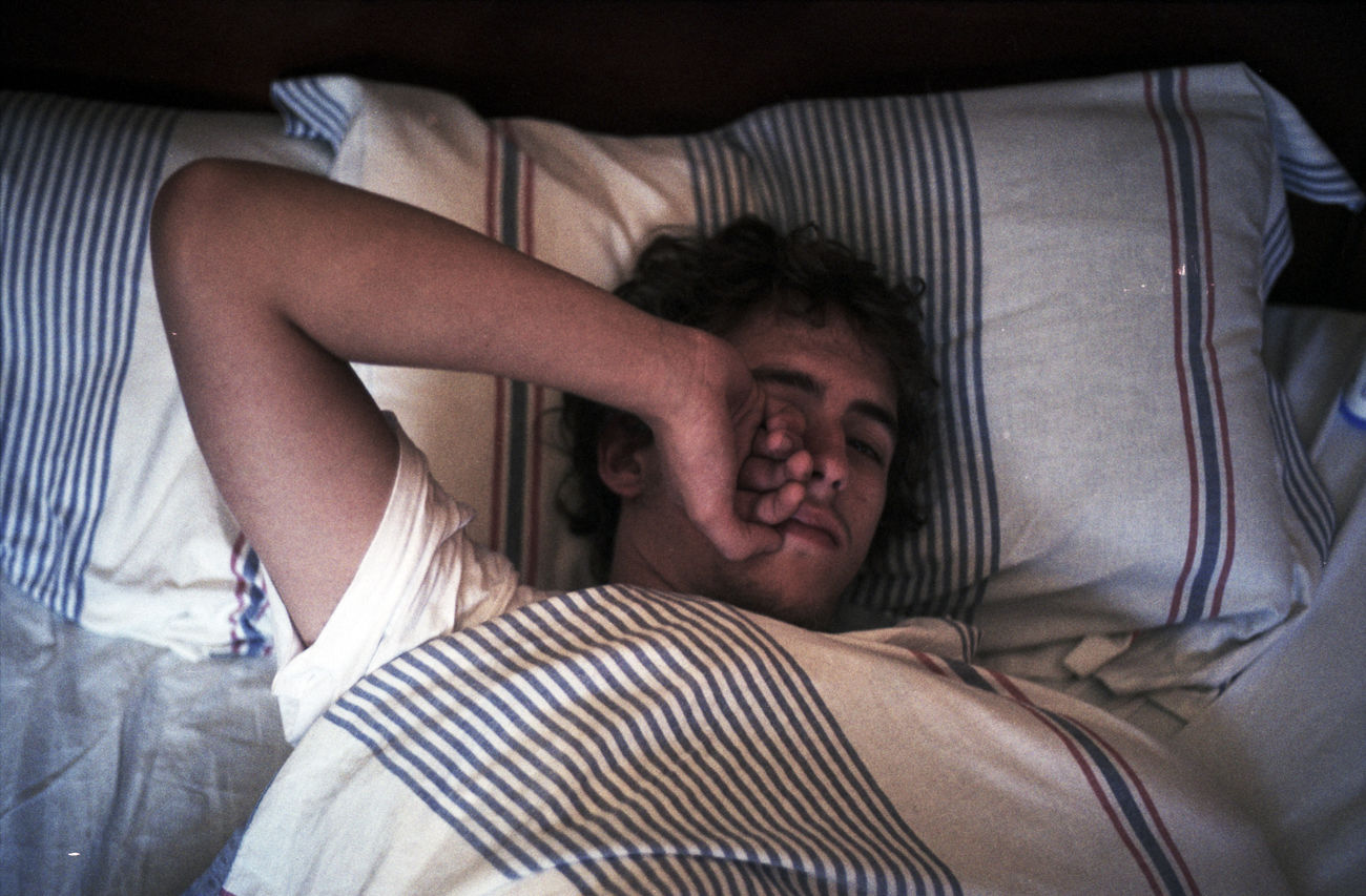 sleepy | 2015 Analog Analogue Photography Bed Person Portrait Of A Man  Sleep