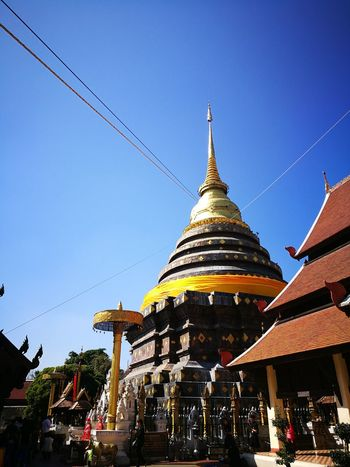 Temple Temple - Building Thailand.. Lampang Sky Beautyfull Belive Budha Temple