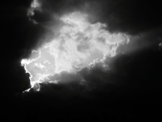 Sunbeams Sky And Clouds Viersen Germany Eye4photography  Fujifilm Finepix SL1000 Sl1000 Black & White Black And White EyeEm Best Shots Cloud_collection