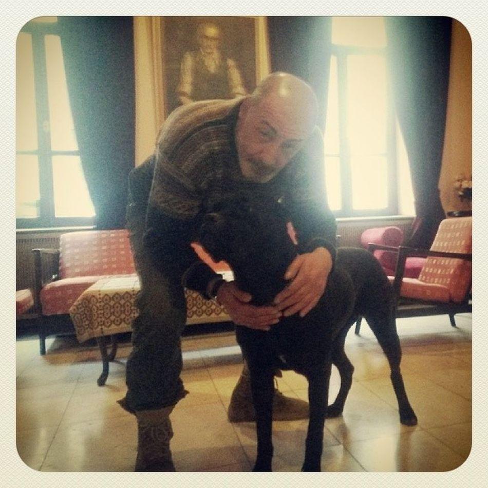 ზურა ყიფშიძე ბაგირასთან ერთად ,) Actor Dog Pet Portrait