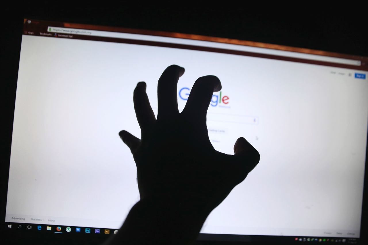 human hand, silhouette, indoors, one person, real people, human body part, touch screen, close-up, day, people