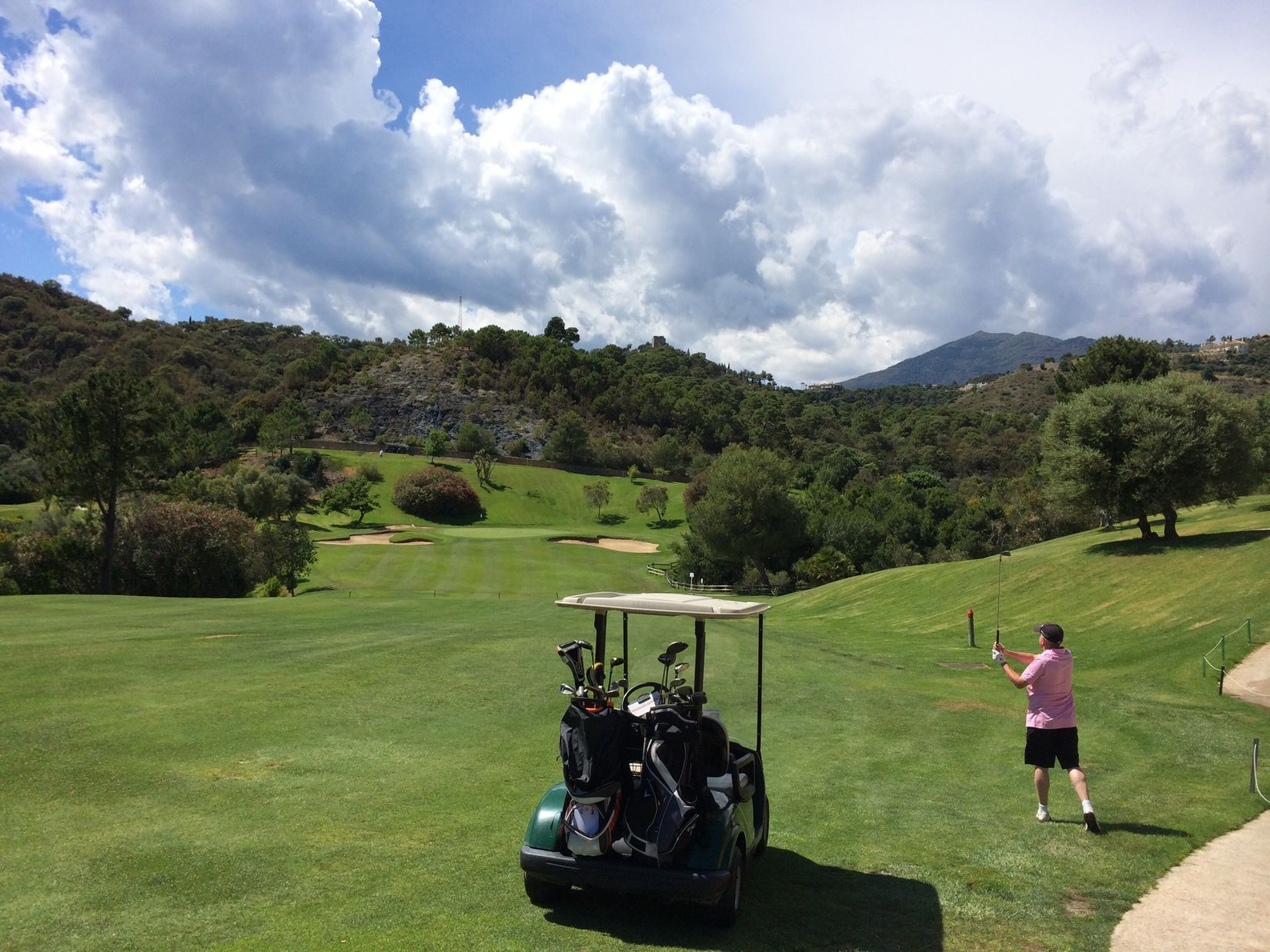 A beautiful afternoon of golf and a lot of good work for charidy.. Golfing Sunshine