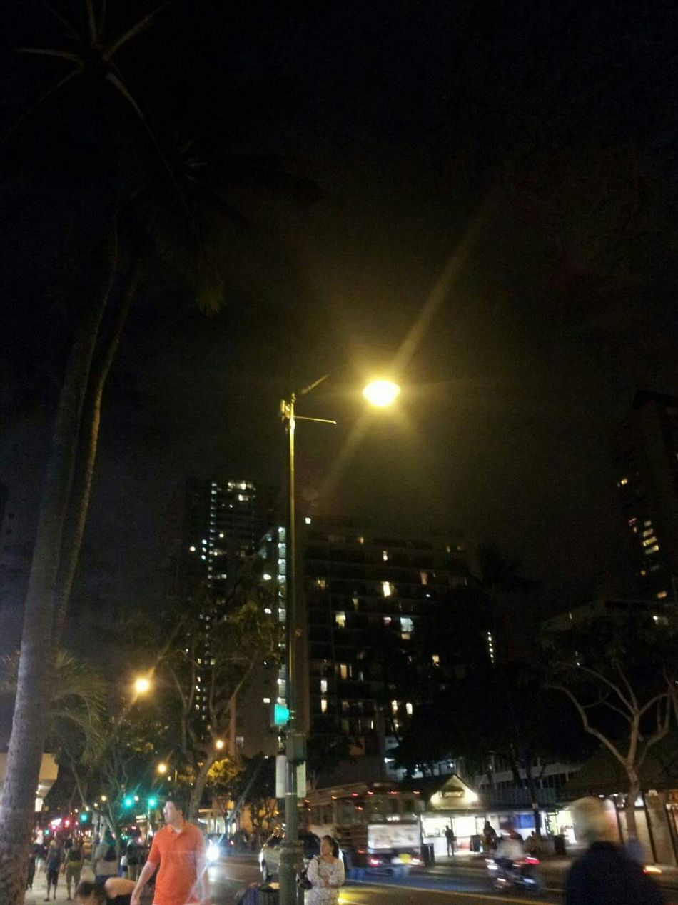 Waikiki City Lights Nightlife Out And About Honolulu City Lights