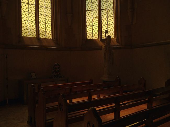 beautiful light at Sacred Heart Cathedral Beautiful Light