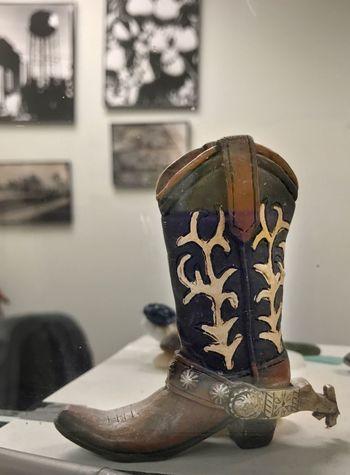 100dayproject 100dayprojectmimedia Indoors  Cowboy Boot Miniature