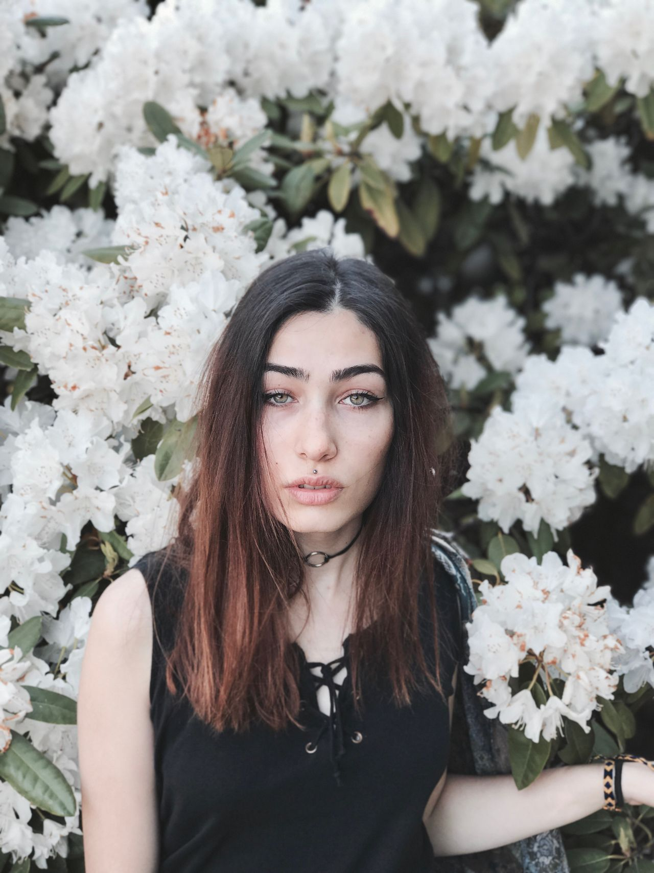 The Portraitist - 2017 EyeEm Awards Flower Young Adult One Person Beautiful Woman Young Women Looking At Camera Front View Bouquet Fragility Nature Portrait Real People Freshness Focus On Foreground Outdoors Beauty Day Lifestyles Plant Beauty In Nature
