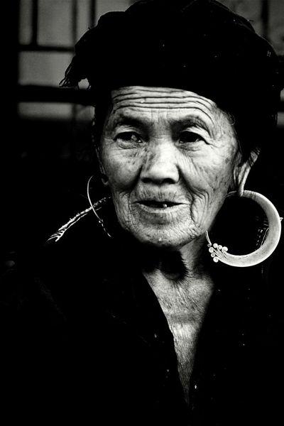 Travel PhotographyTravel Photography Eyeem People + Portrait EyeEm Vietnam Faces Of EyeEm Mucangchai Vietnam October2015 Black And White Portrait People Photography People Of EyeEm Oldman