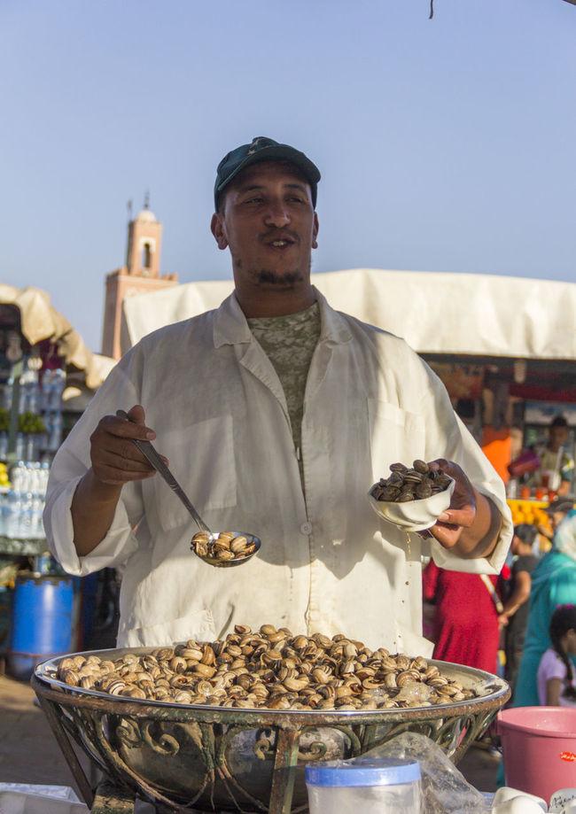 Escargot Escargots Escargots🐌 Food Food And Drink Freshness Marakesh Marakesh Morocco Moroccan Food Moroccan Man Morocco Person Streetfood StreetFoods Tourism