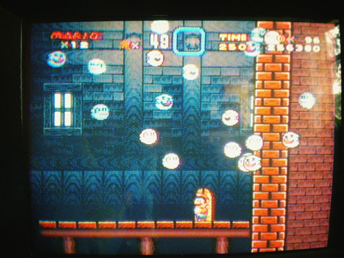 Ghost Super Nintendo Mario Bros Videogames