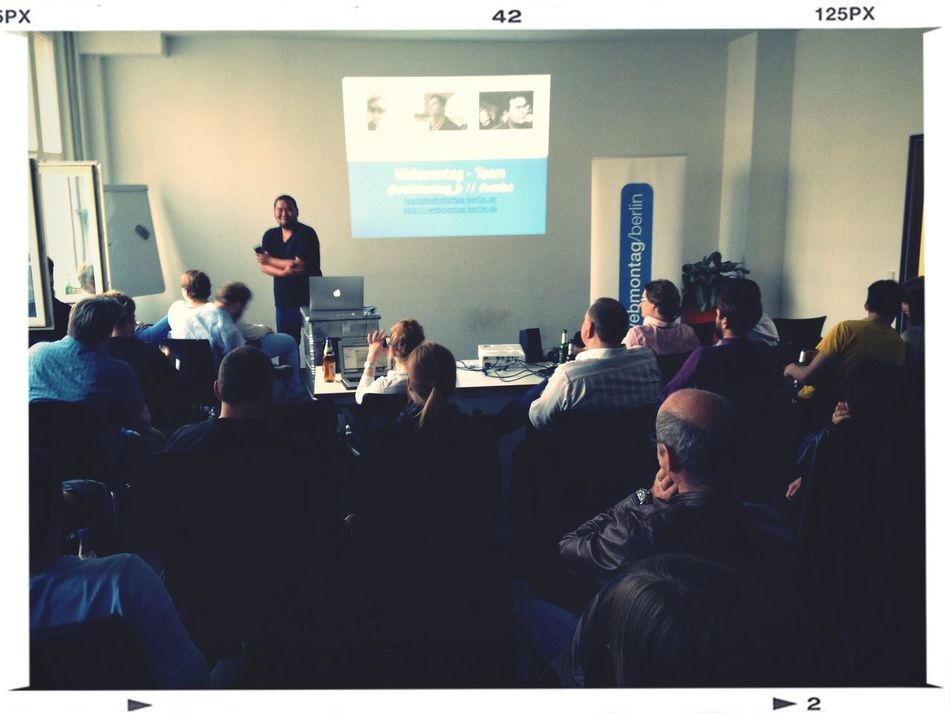 """Live vom Webmontag-Berlin - """"E-Commerce 3.0"""" hosted by Tirendo"""