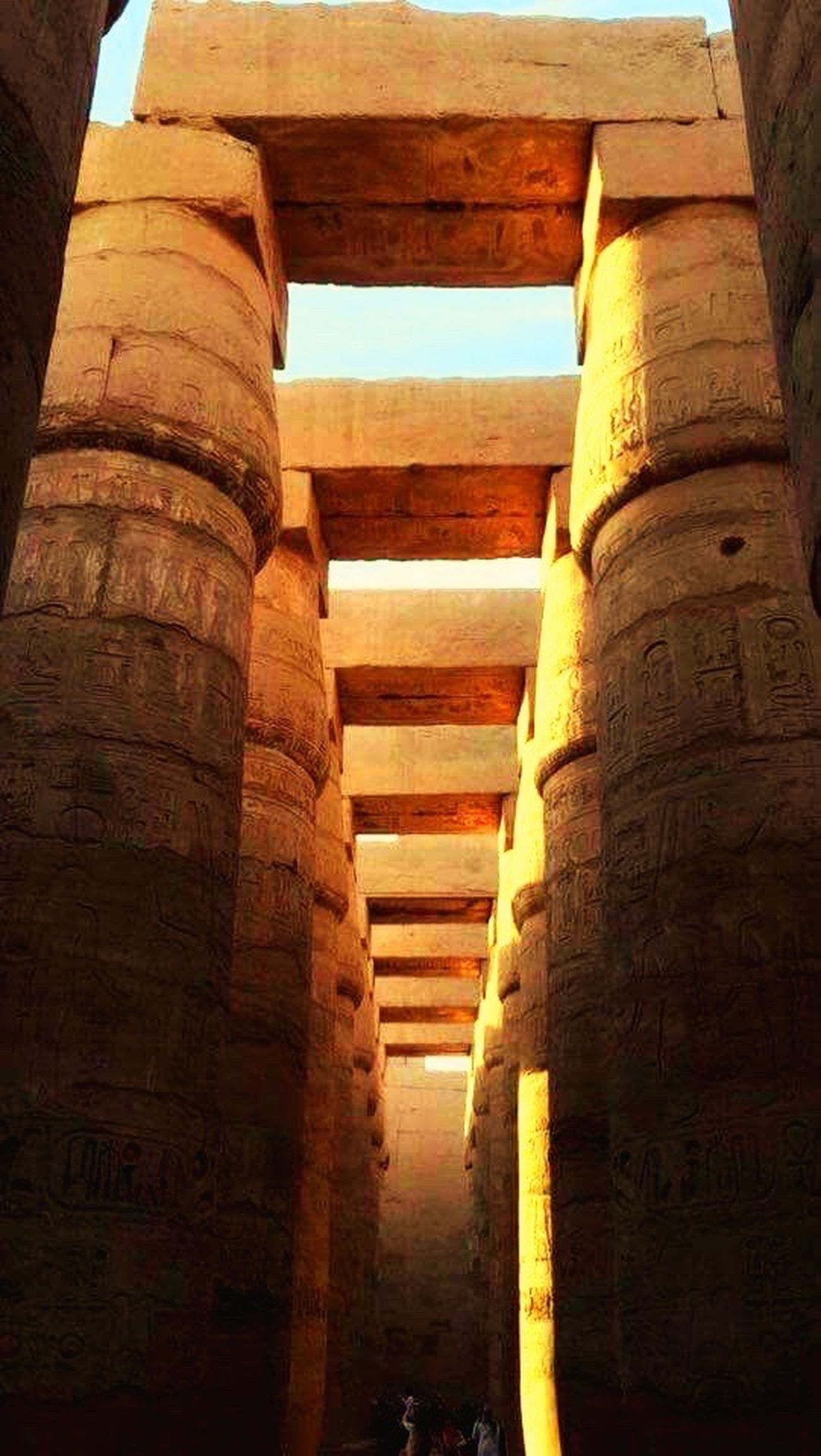 Miles Away Architecture History Travel Destinations Luxor Egyptshots Thisisegypt Mobile Photography Karnak Temple