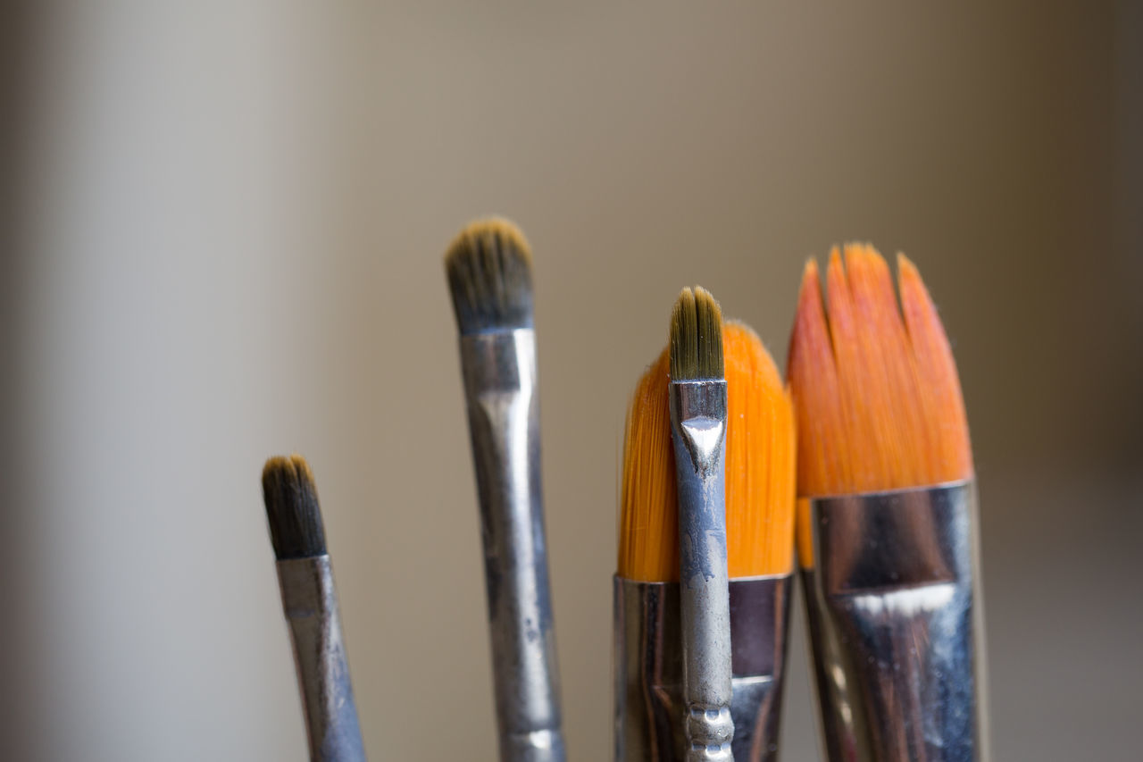 Brush Close-up Color Colors Creativity Indoors  Indoors  Multi Colored Nature No People Oil Painting Paintbrush Painting Studio Shot Tool Tools Variation Work Tool