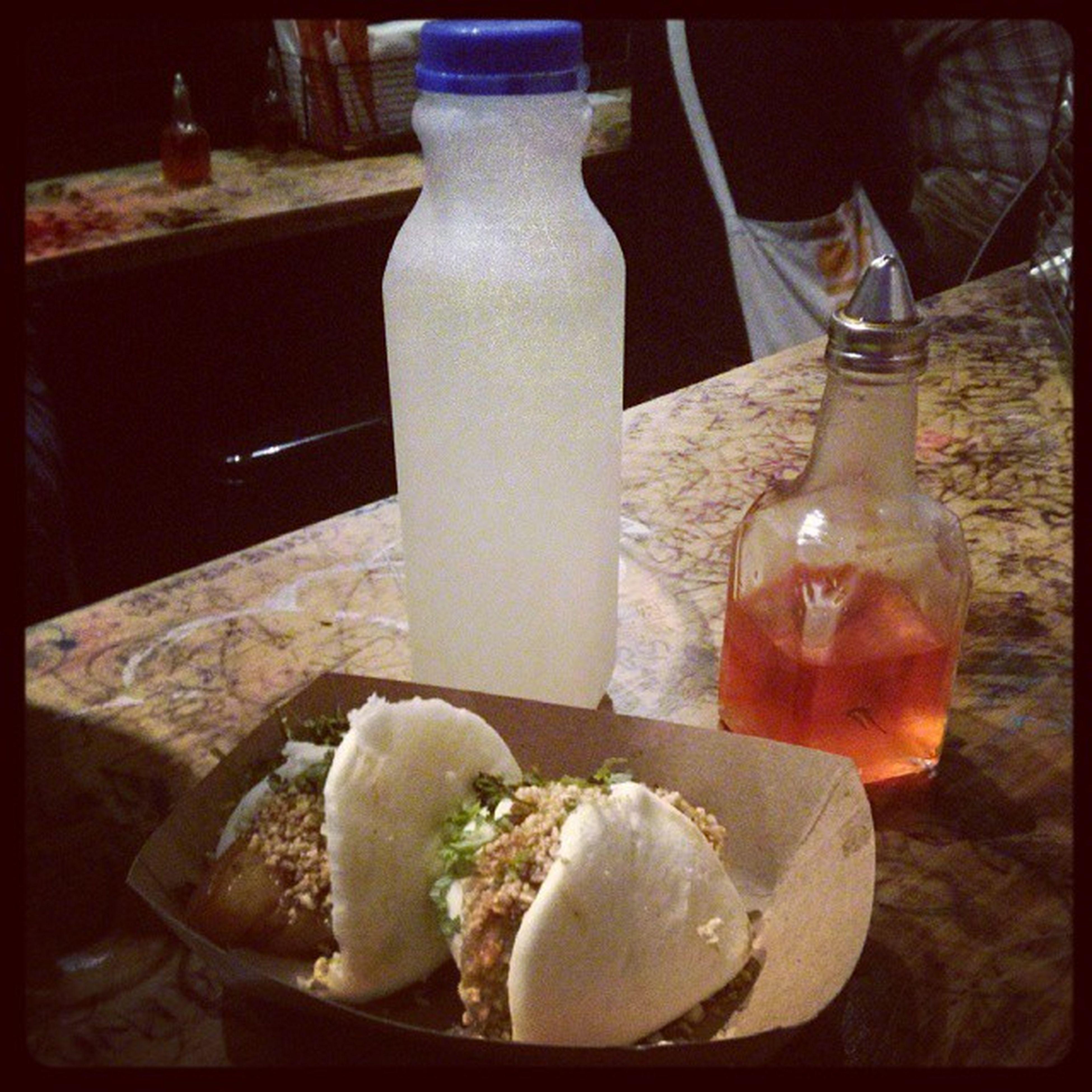 Awesome Pork Belly & Chicken Baos! Thank you for lemonade on the house. :) Baohausnyc