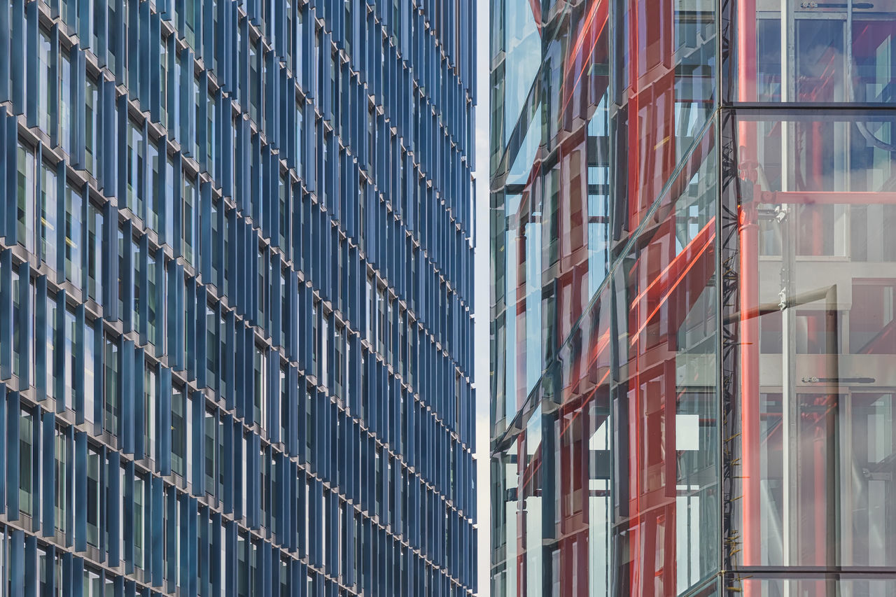 Detail shot showing a gap between two office buildings. Architecture Architecture Backgrounds Built Structure Day Design Designer  Indoors  LINE Lines Lines And Shapes Lines&Design London London Lifestyle LONDON❤ Modern No People Shelf View Views Warehouse