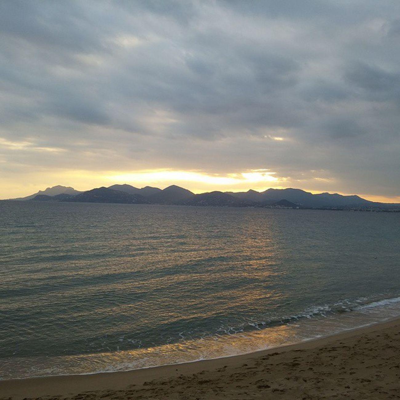 Vscocam Cannes Sunset Coucher  desoleil