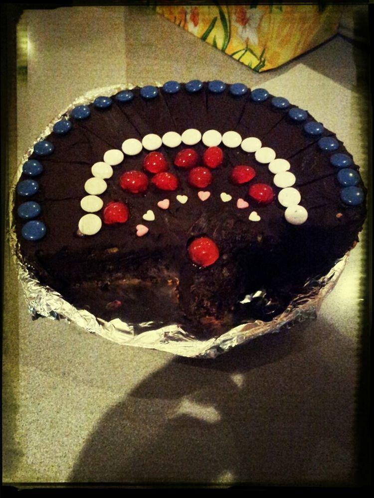 el abanico-pastel de cumple hecho x Esther!!!