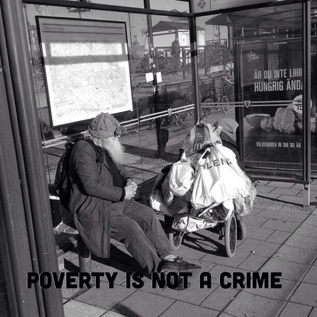 www.povertyisnotacrime.org Poverty Is Not A Crime Humaninterest Homeless Begging
