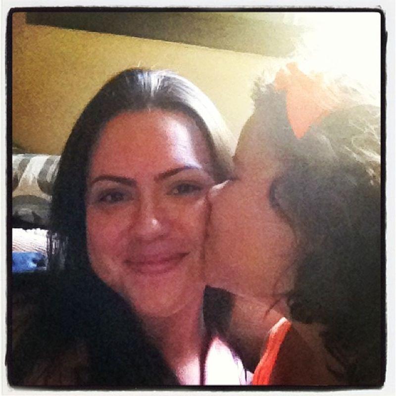 Melhor beijo que existe! Meu amor @cathagomes MerryChristmas Natal2013 Family Natalemfamilia
