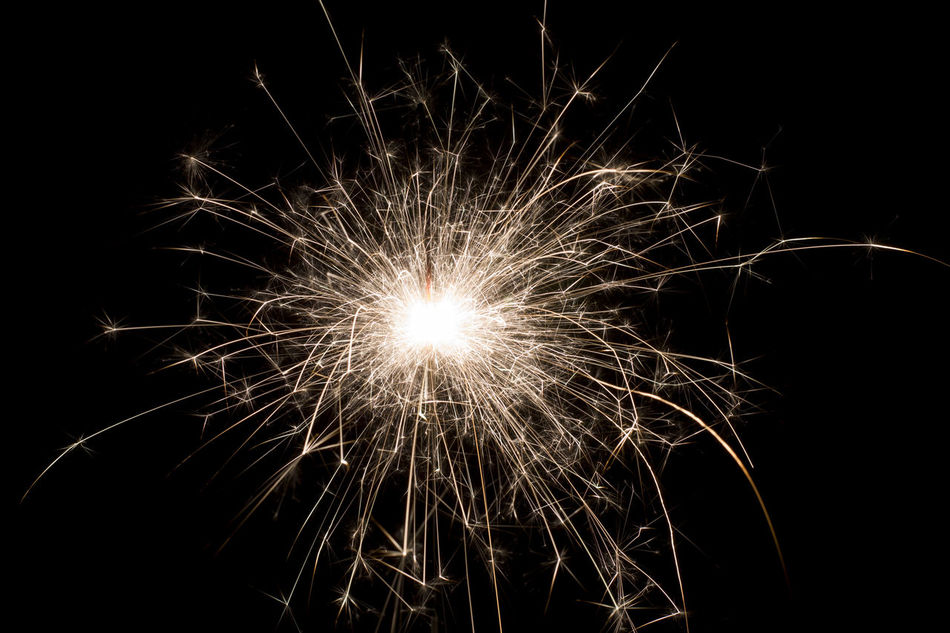 Arts Culture And Entertainment Bengal Fire Bengal Lights Black Celebration Darkness And Light Event Exploding Fire Firework - Man Made Object Firework Display Fireworks Happy New Year Illuminated Light Long Exposure Motion New Year Night No People Outdoors Sky Sparkler Sparklers Sparks