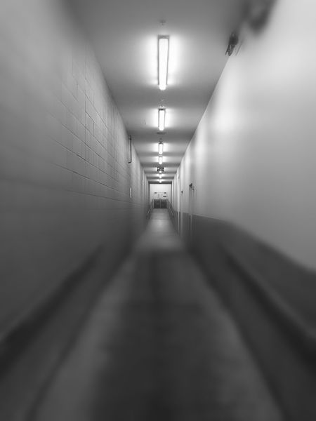 Hallway Tunnel Vision The Way Out First Eyeem Photo