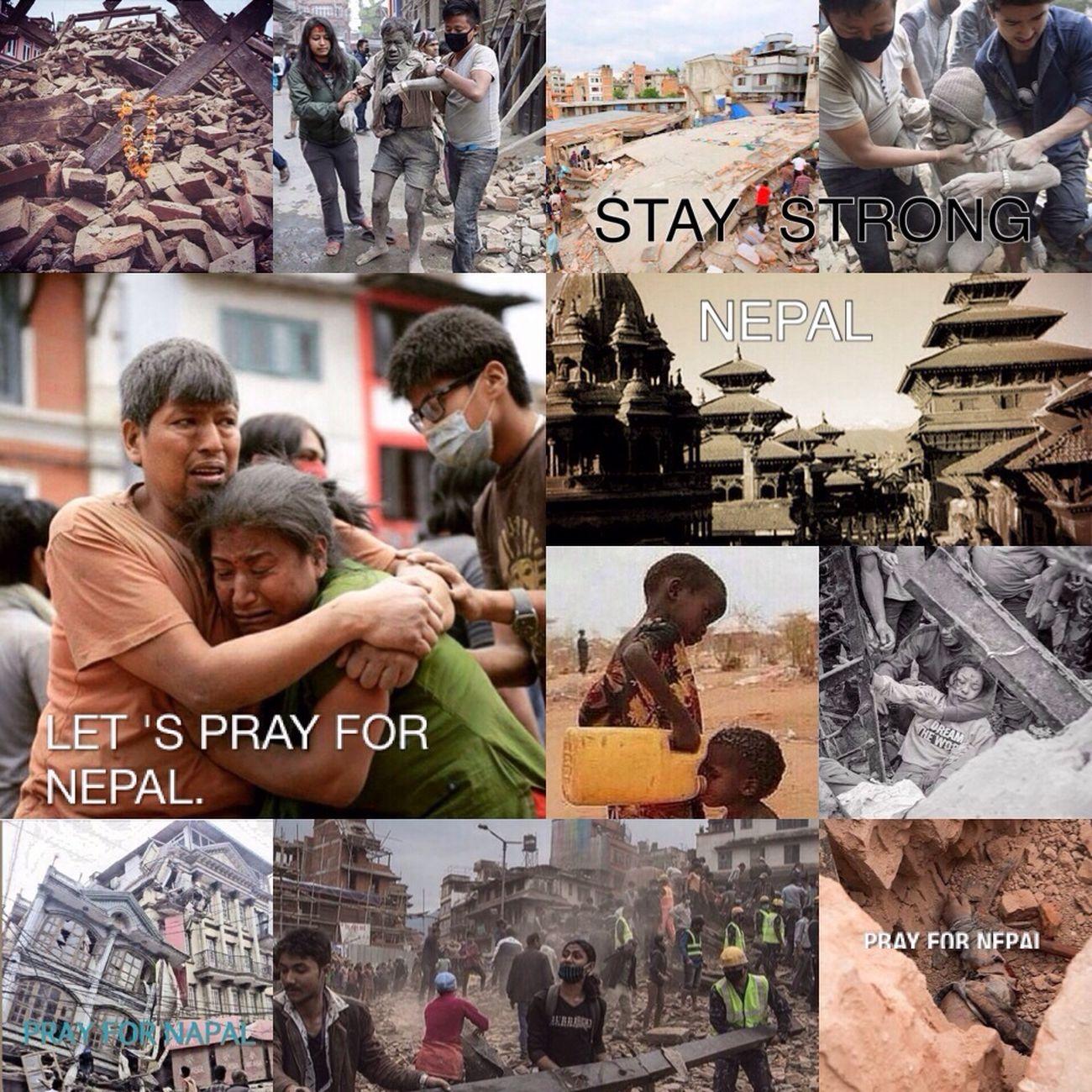 """นับเป็นเหตุการณ์ที่รุนแรงมาก -->> """"แผ่นดินไหวประเทศเนปาล"""" ความสูญเสีย ผู้คนสูญหาย บาดเจ็บ และเสียชีวิตอย่างมาก เป็นเหตุสะเทือนใจอีกครั้งของโลกที่เกิดขึ้นจากธรรมชาติ ที่ไม่มีใครอยากให้เกิดขึ้น ไม่มีใครต้องการ แต่ก็ไม่สามารถบังคับธรรมชาติได้ 🌍🌾🍃🍁 ขอให้ผู้ที่รอดปลอดภัย ขอให้พบผู้สูญหายเร็วๆ ขอให้ฝ่าฝันไปให้ได้ ช่วยส่งกำลังใจให้เพื่อนร่วมโลกของเรา 🙈🙉🙊 May Gob be with you all #Napal #Earthquake #Disaster PrayforNepal"""