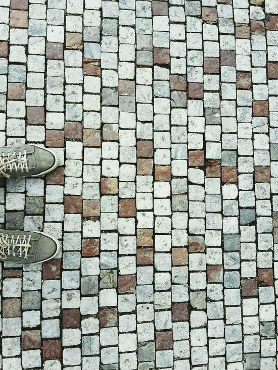 Full Frame Backgrounds Pattern Textured  Day No People Shape Outdoors Arrangement Stone Tile Close-up Karlovy Vary Karlovy Vary International Film Festival 2016 Karlovy Vary, Czech Days Prague Czech Republic Walking Around The City  Walk This Way
