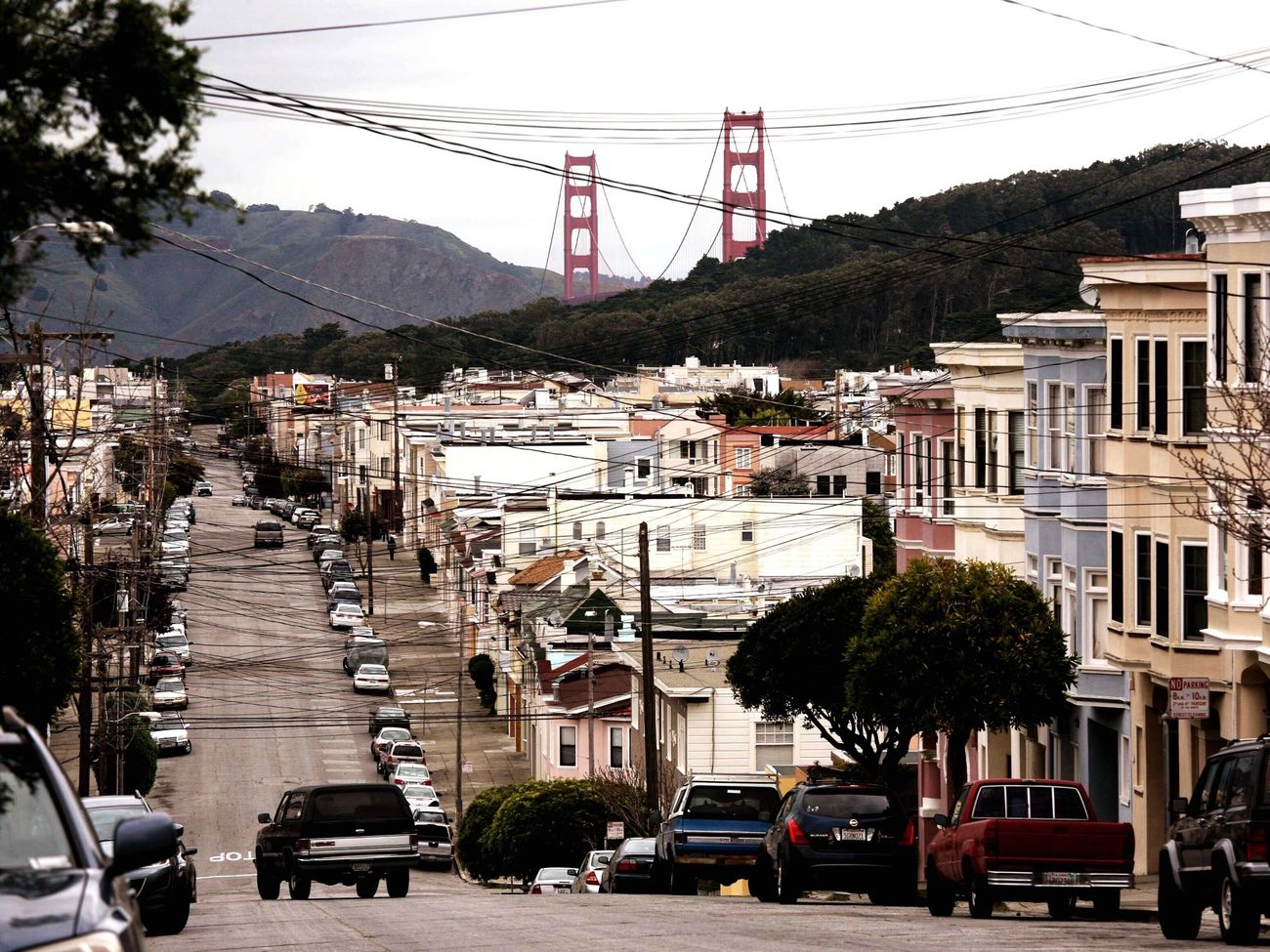 San Fransisco Beautiful Place Sanfrancisco Old Buildings Golden Gate Bridge