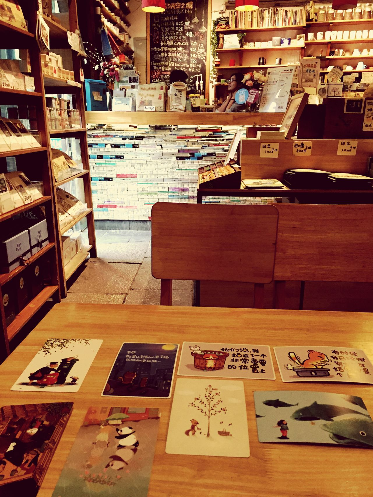 April 2015. Suzhou PIngjiang Road China Cafe Interior Design Interior Hipster Cosy Chinese Girl Cafe Time
