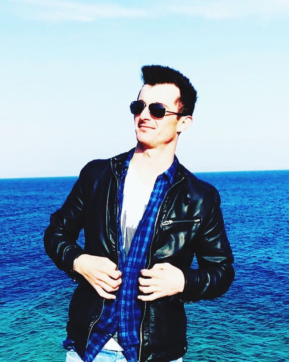 Real People Turkey EyeEm EyeEm Gallery Eyes Keşan Erikli Sunglasses Sea One Person Horizon Over Water Water Young Adult One Man Only Smiling Standing Only Men Outdoors Handsome Lifestyles Day Happiness Suit Well-dressed Adult Portrait