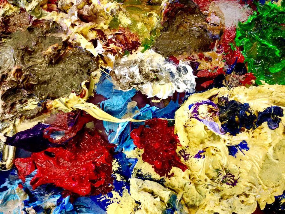 Painting Art Paint Paint Art Colors Colorful Rear Picture Rear Pic Colour Art Colour