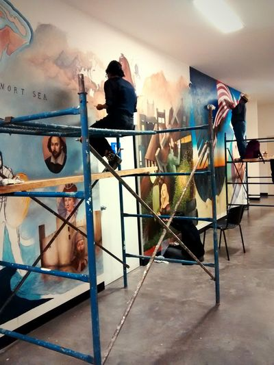 Wall Painting Student Life UniSon Arts Motorolamotog