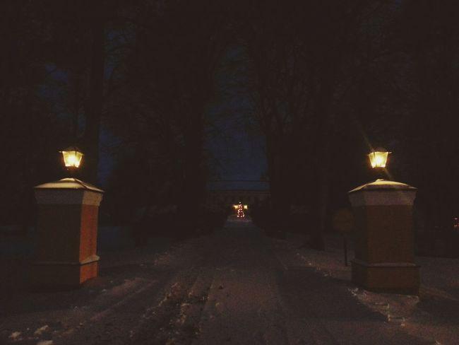 Back Home From School  Tired Mondays Winterwonderland