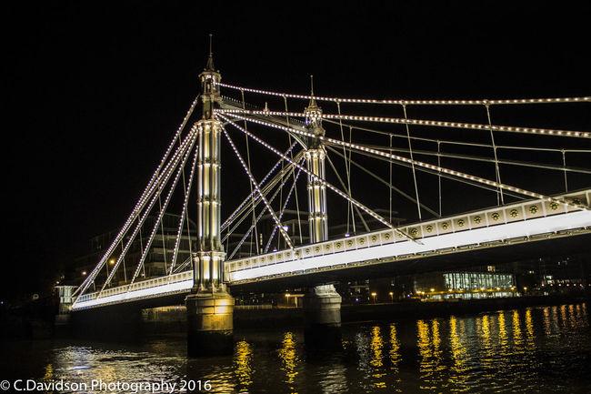 Boat Ride Chelsea Chelsea Bridge City Lights London Night River Thames Wedding