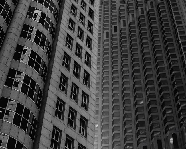 San Francisco Bay San Francisco USA USAtrip Lookingup Architecture Buildings Pattern Blackandwhite Black And White