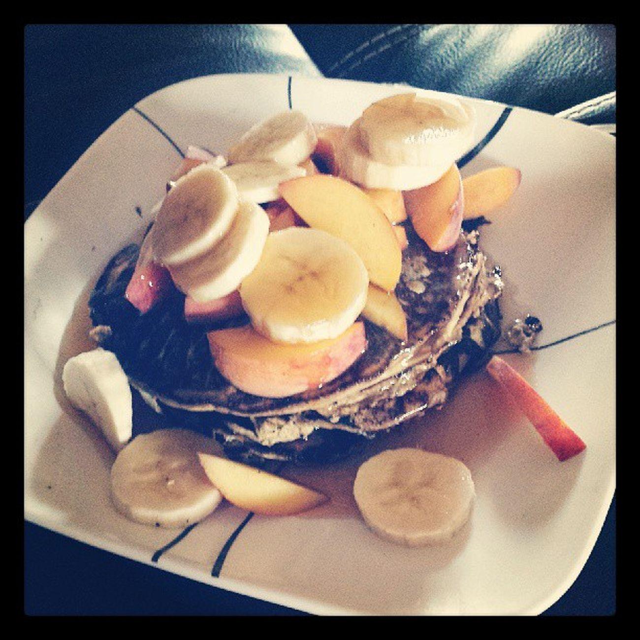 Wheyproteinpancakes Yumm Nocarbs Nofat nosugar paleo healthygirl healthyfuel goodmorning