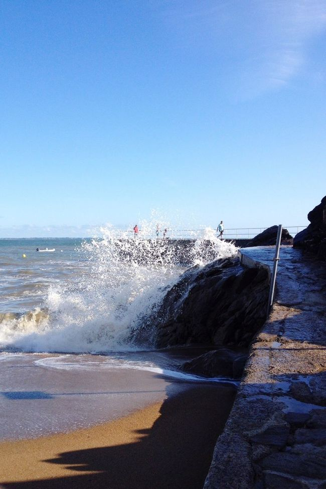 Water Sea Saint-Marc-sur-Mer Photography In Motion Landscapes With WhiteWall The KIOMI Collection