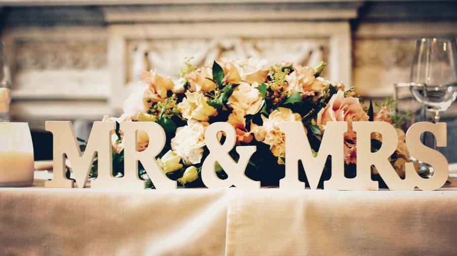 EyeEm Selects Flowers Celebration No People Indoors  Close-up Flower Freshness Mr&Mrs Wedding Wedding